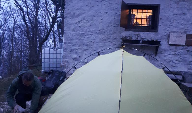 Két napos túra sátorban alvással a Sasfészeknél