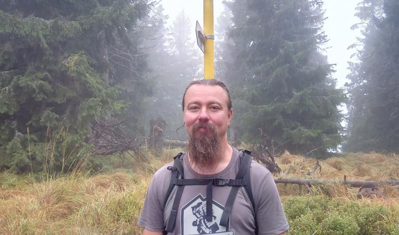 Felhőben a Polyána-csúcs és a Bystré vízesés13