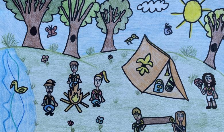 Hív az erdő rajzpályázat győztesei